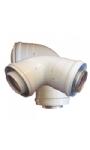 Concentrique d'évacuation des gaz de combustion pour votre chauffe-eau instantané à gaz avec chambre de combustion fermée | Tuyaux d'évacuation des gaz | Chauffeeauagaz.fr